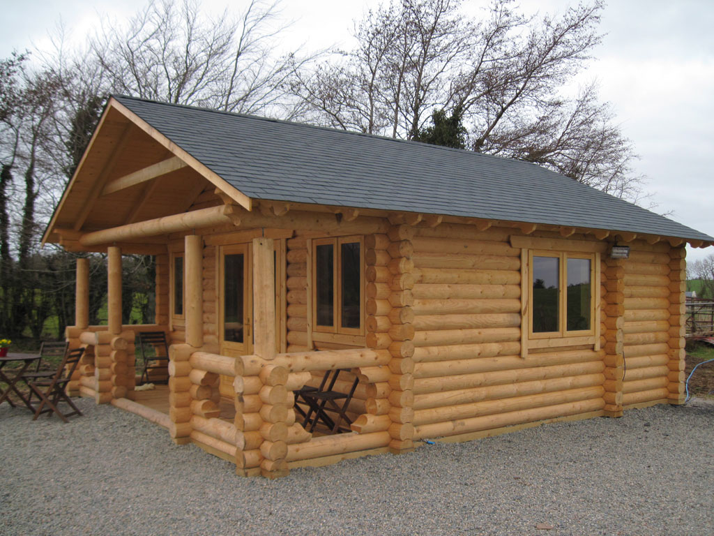 Wildwood log cabins high quality log cabins for Elevated log cabin